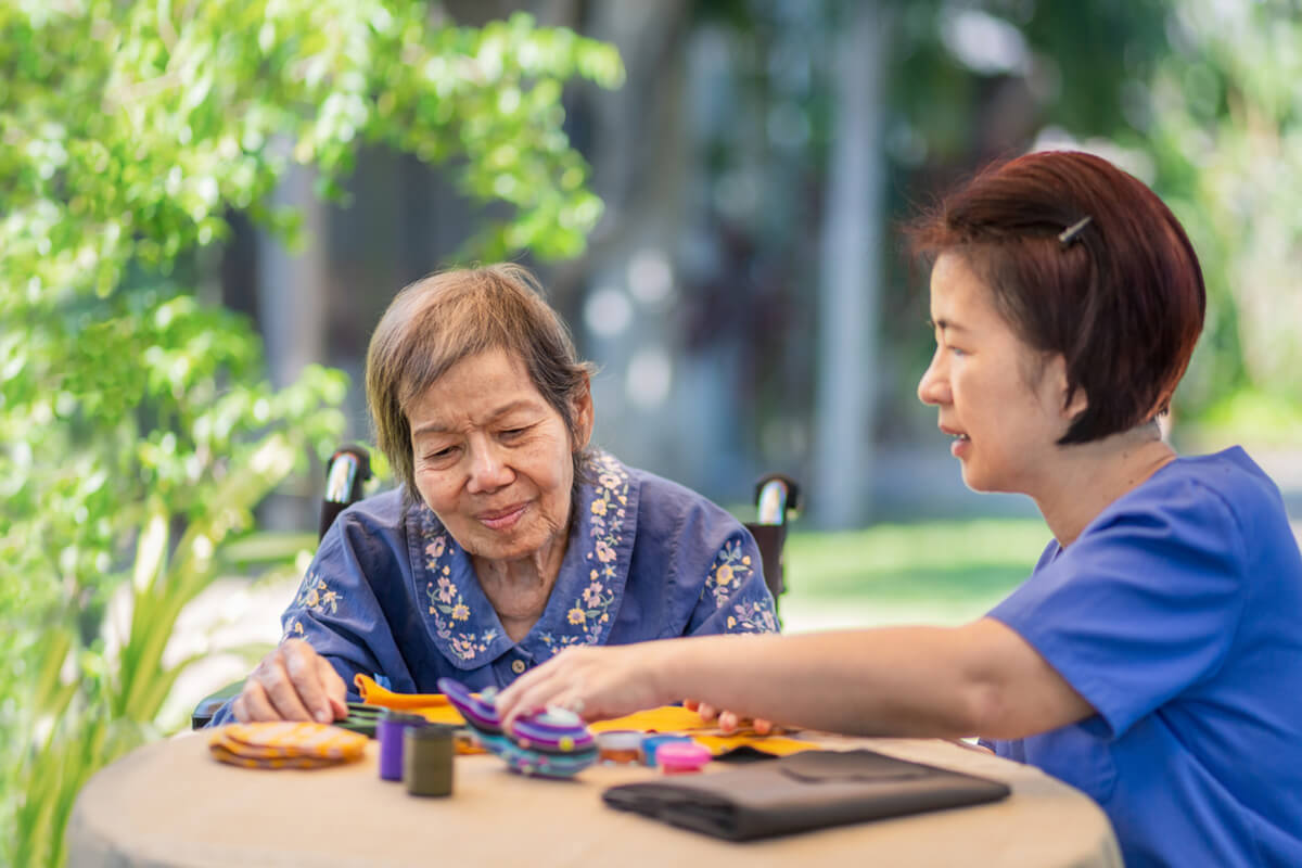 How We Care for Clients with Dementia